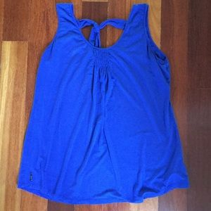 Lole Blue Athletic Top
